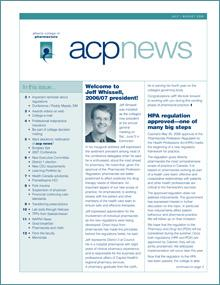 acpnews July/August 2006