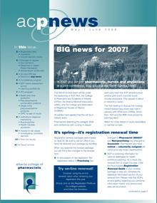 acpnews May/June 2006