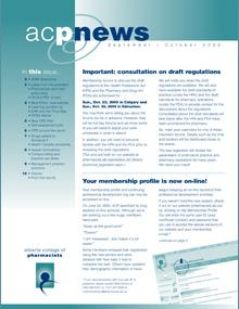 acpnews September/October 2005